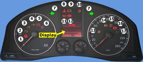 motor check lampje dashboard knippert