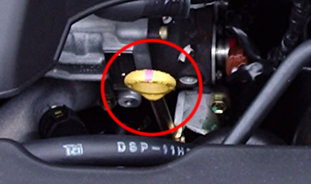 Auto Onder De Motorkap